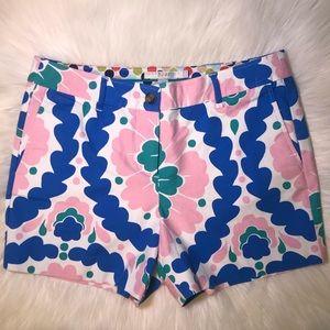 Boden size 6 floral shorts